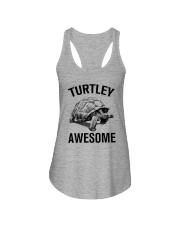 TURTLEY AWESOME Ladies Flowy Tank thumbnail