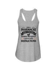 Pharmacist Ladies Flowy Tank tile