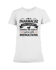 Pharmacist Premium Fit Ladies Tee tile