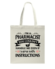Pharmacist Tote Bag thumbnail