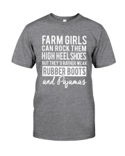 Farm Girl Classic T-Shirt front