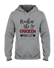 ROCKIN' THE CHICKEN MOM LIFE Hooded Sweatshirt thumbnail