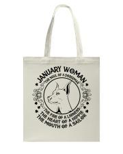 JANUARY WOMAN Tote Bag thumbnail
