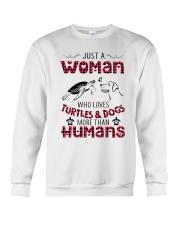 TURTLES AND DOGS Crewneck Sweatshirt thumbnail