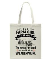 Farm Girl Tote Bag thumbnail