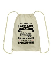 Farm Girl Drawstring Bag thumbnail