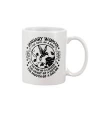 JANUARY WOMAN Mug thumbnail