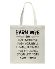 Farm Wife Tote Bag thumbnail