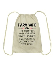 Farm Wife Drawstring Bag thumbnail