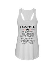 Farm Wife Ladies Flowy Tank thumbnail