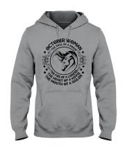 OCTOBER WOMAN Hooded Sweatshirt thumbnail