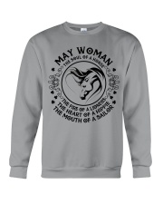 MAY WOMAN Crewneck Sweatshirt tile
