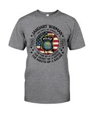 JANUARY  WOMAN Classic T-Shirt thumbnail