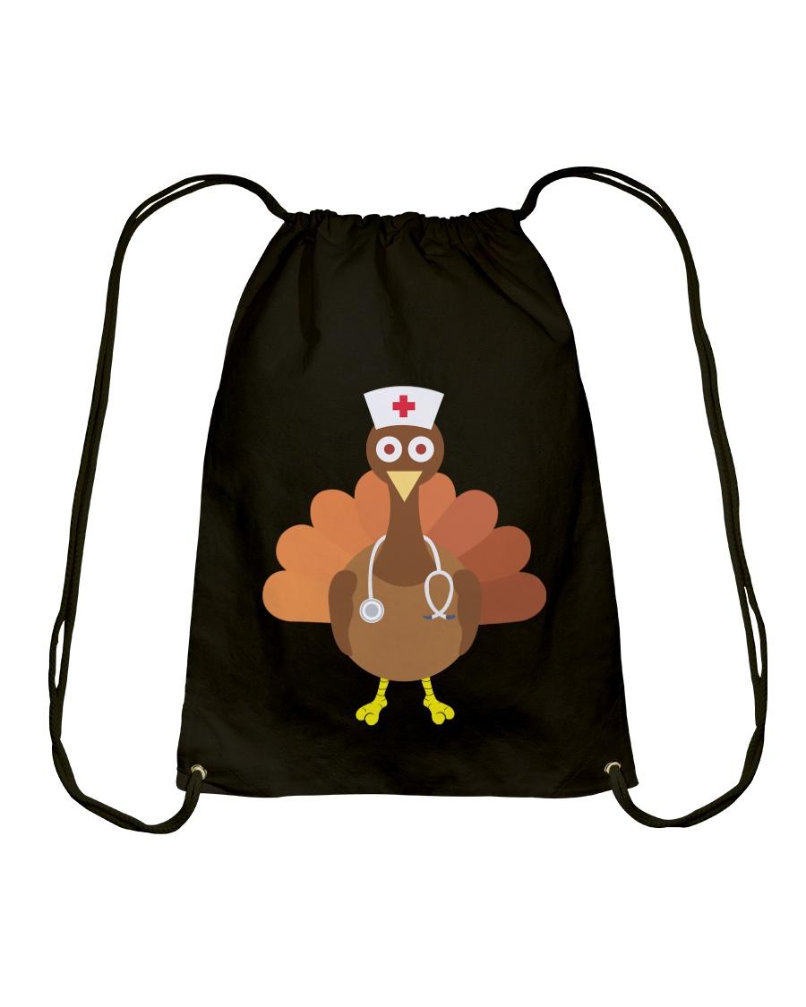 THANKSGIVING GIFT NURSE Drawstring Bag
