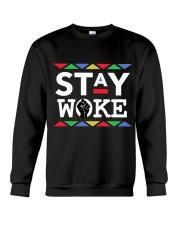 STAY WOKE Crewneck Sweatshirt thumbnail