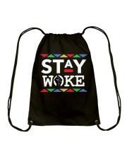 STAY WOKE Drawstring Bag thumbnail