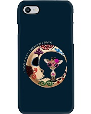 GIRAFFE LOVE YOU TO THE MOON AND BACK Phone Case i-phone-7-case