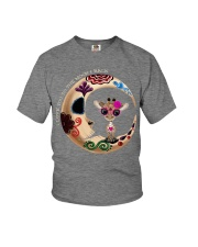 GIRAFFE LOVE YOU TO THE MOON AND BACK Youth T-Shirt thumbnail