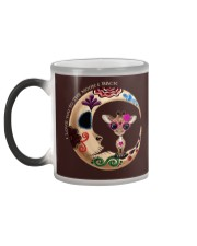 GIRAFFE LOVE YOU TO THE MOON AND BACK Color Changing Mug color-changing-left