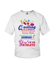 QUILTING IS A SPORT Youth T-Shirt thumbnail