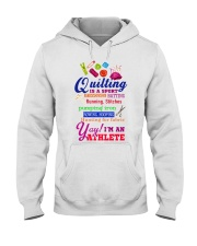 QUILTING IS A SPORT Hooded Sweatshirt thumbnail