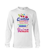 QUILTING IS A SPORT Long Sleeve Tee thumbnail
