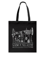 WEAPONS OF MASS CREATION Tote Bag thumbnail