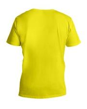 MOMMY SHARK V-Neck T-Shirt back