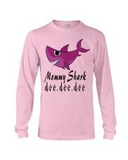 MOMMY SHARK Long Sleeve Tee front