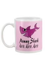 MOMMY SHARK Mug back