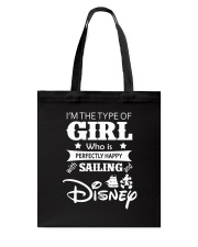 Sailing - I'm The Type Of Girl Tote Bag tile