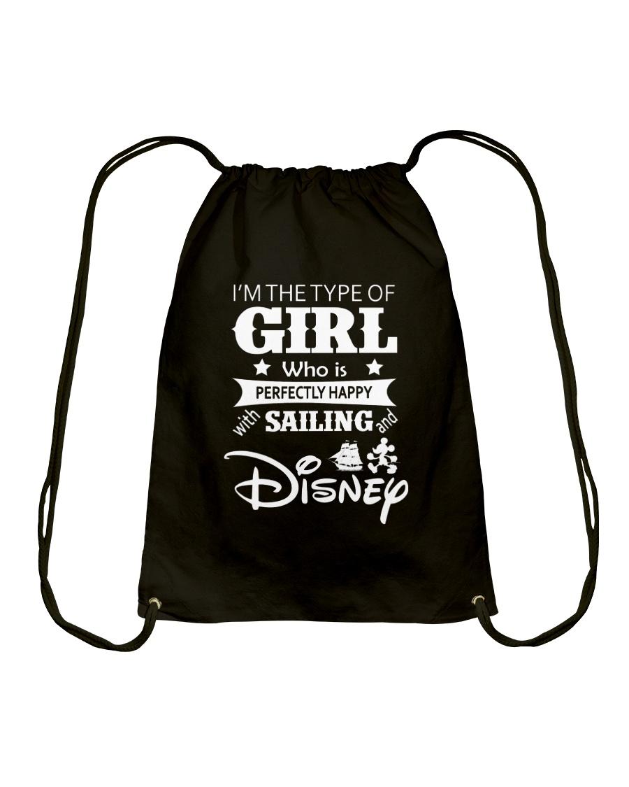 Sailing - I'm The Type Of Girl Drawstring Bag