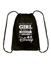 Sailing - I'm The Type Of Girl Drawstring Bag thumbnail