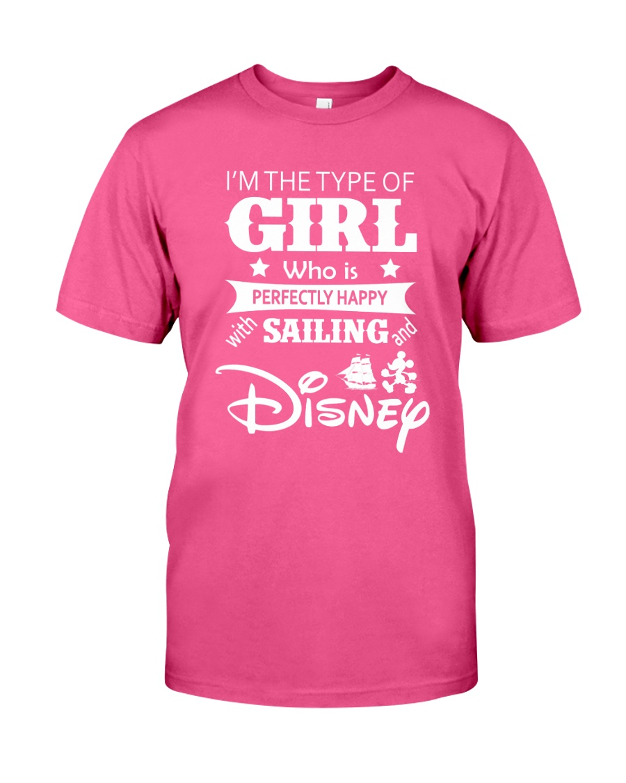 Sailing - I'm The Type Of Girl Classic T-Shirt