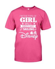 Sailing - I'm The Type Of Girl Classic T-Shirt front