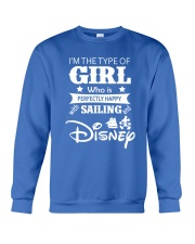 Sailing - I'm The Type Of Girl Crewneck Sweatshirt front
