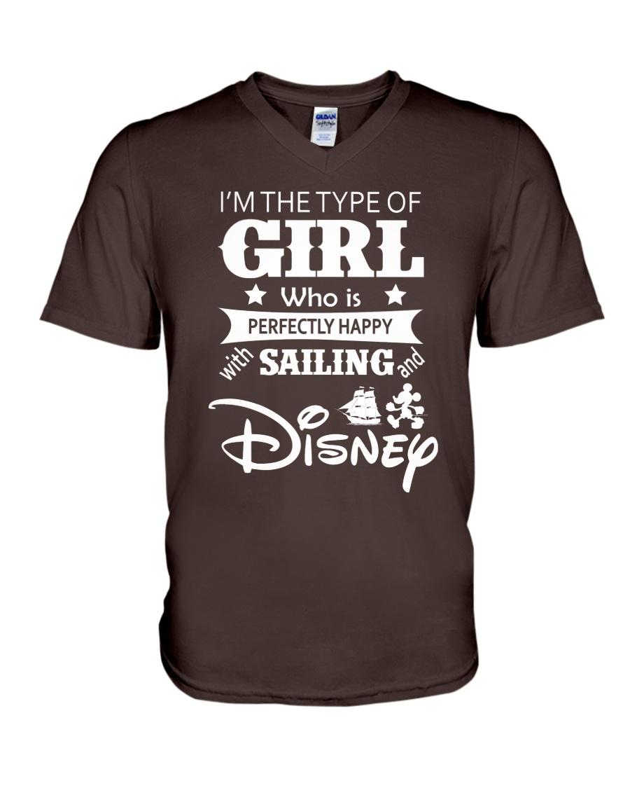 Sailing - I'm The Type Of Girl V-Neck T-Shirt
