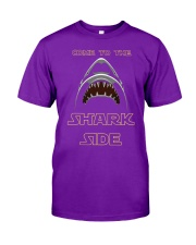 COME TO THE SHARK SIDE Classic T-Shirt front