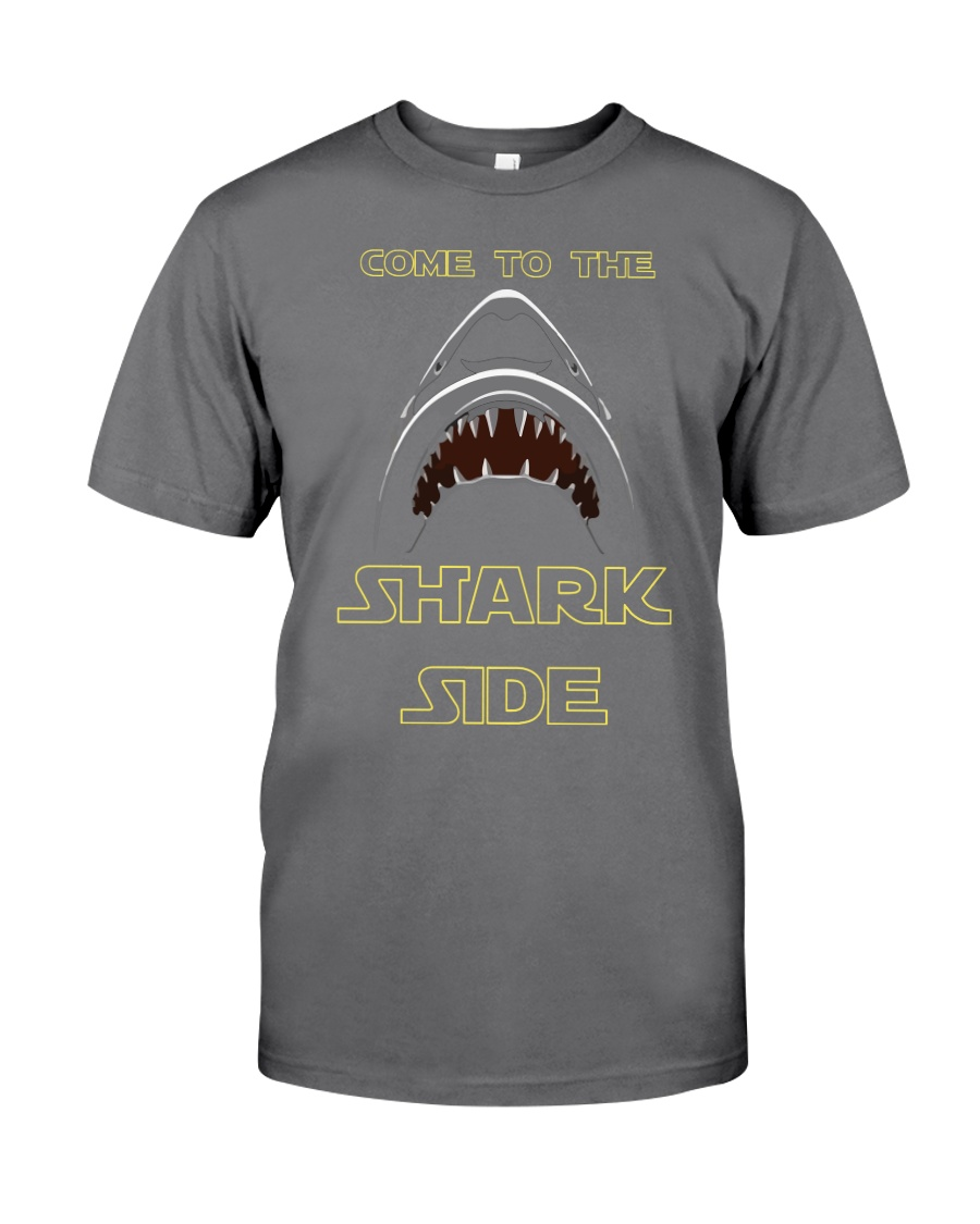 COME TO THE SHARK SIDE Premium Fit Mens Tee showcase