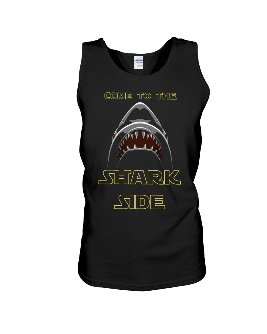 COME TO THE SHARK SIDE Unisex Tank