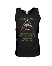 COME TO THE SHARK SIDE Unisex Tank tile