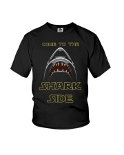 COME TO THE SHARK SIDE Youth T-Shirt tile