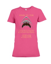 COME TO THE SHARK SIDE Premium Fit Ladies Tee front