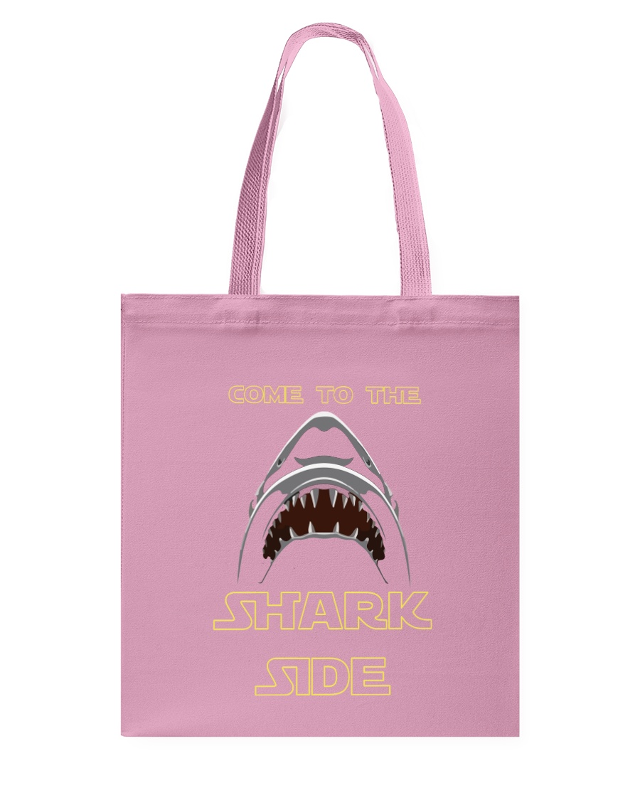 COME TO THE SHARK SIDE Tote Bag