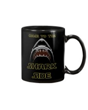 COME TO THE SHARK SIDE Mug tile