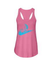 love sailing Ladies Flowy Tank front