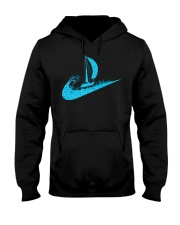 love sailing Hooded Sweatshirt front