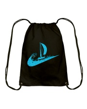 love sailing Drawstring Bag thumbnail