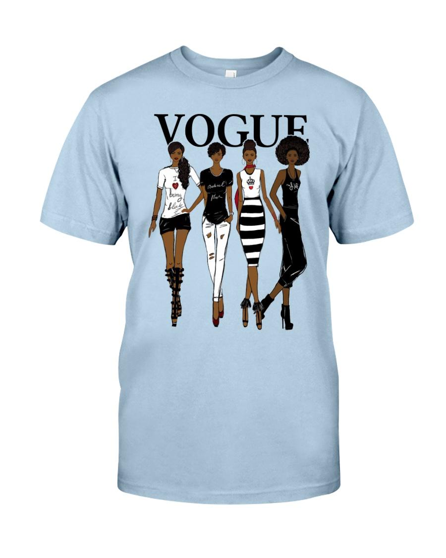 V0GUE QUEEN Classic T-Shirt