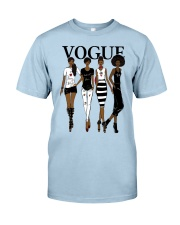 V0GUE QUEEN Classic T-Shirt front